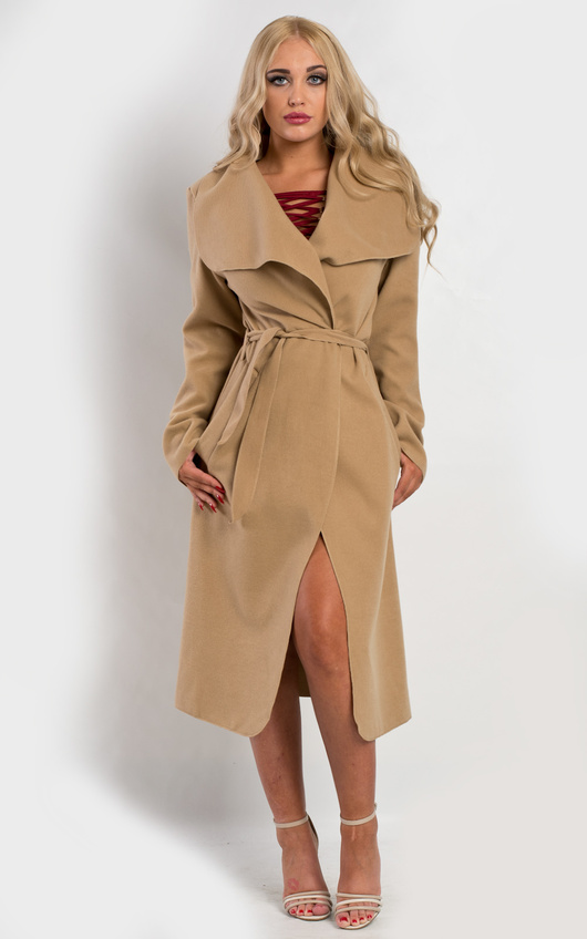 Goya Long Belted Coat