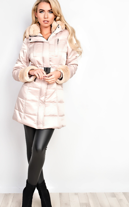 Yasmin Padded Faux Fur Jacket
