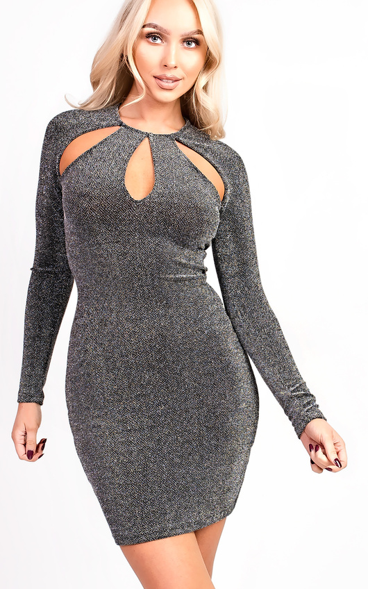 Alex Slinky Cut Out Bodycon Dress