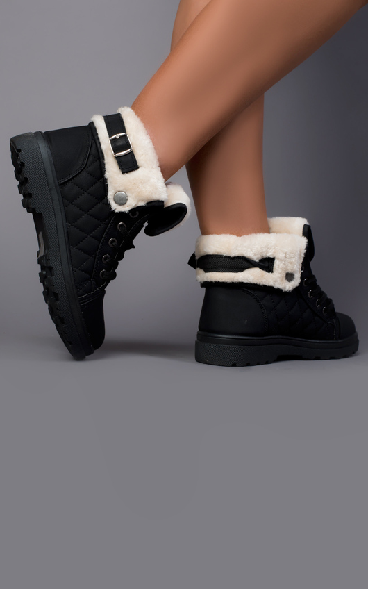 Theia Faux Fur Boots