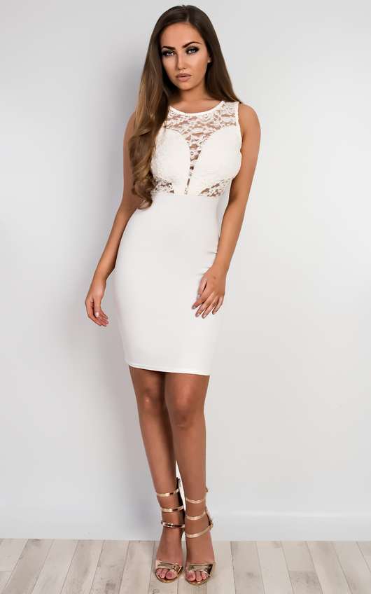Emmelyn Lace Bodycon Dress