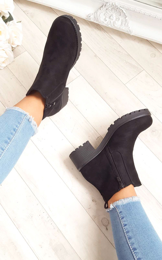 Amra Chunky Ankle Boots