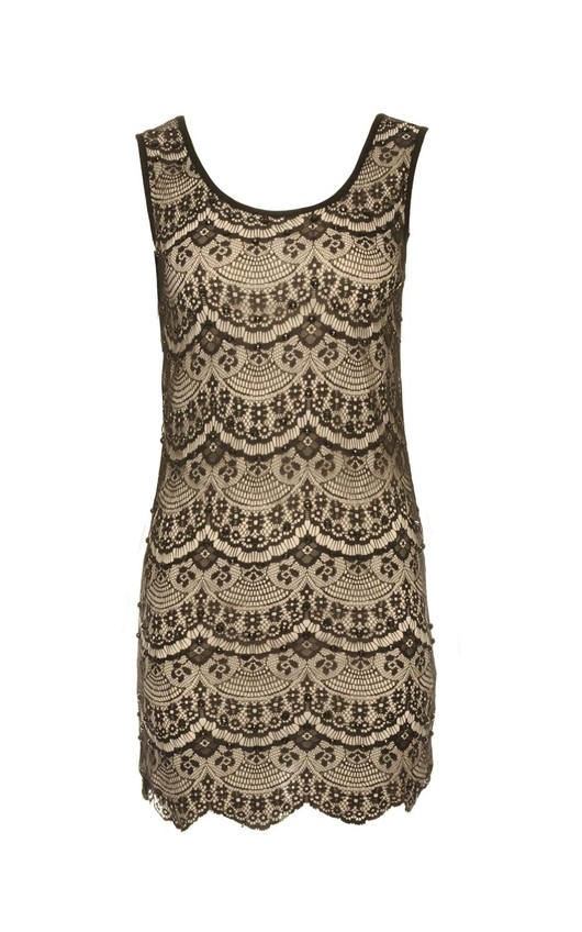 Meli Embellished Lace Bodycon Dress