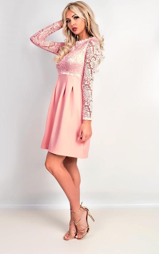 c11495c026d6 Nika Lace Skater Dress Thumbnail