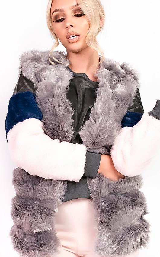 Victoria Faux Fur Waistcoat