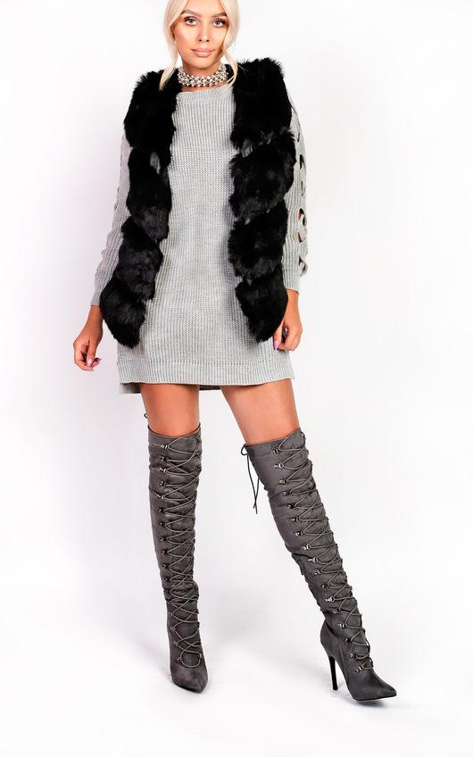 Dallis Faux Fur Waistcoat