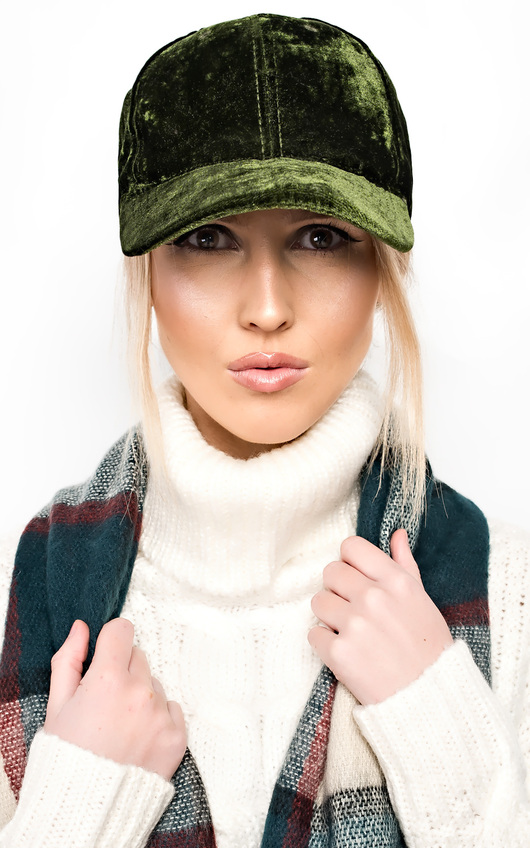 Mariella Velour Cap