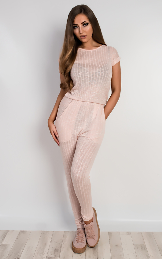 Evangelina Knitted Jumpsuit