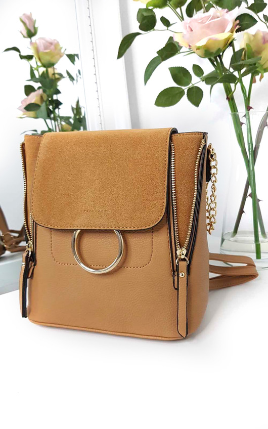 Casia Faux Leather Multiway Bag
