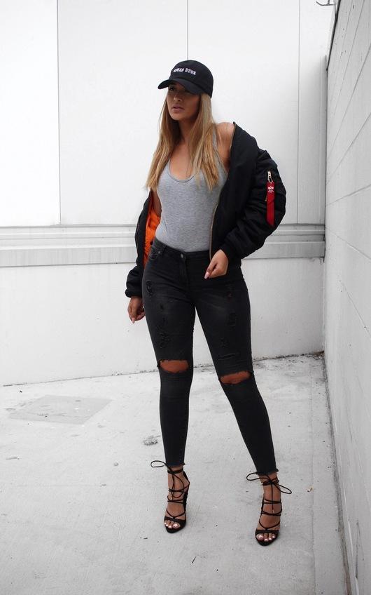 Kynlie Basic Bodysuit