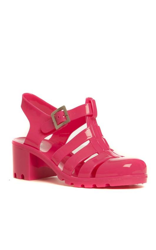 Sydney Heeled Jelly Sandals