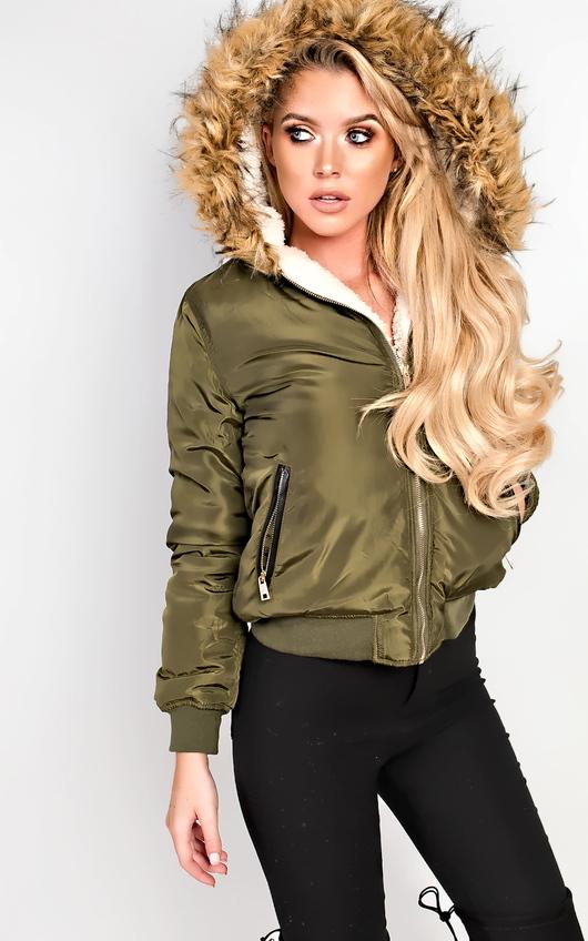 Melica Faux Fur Parka Jacket