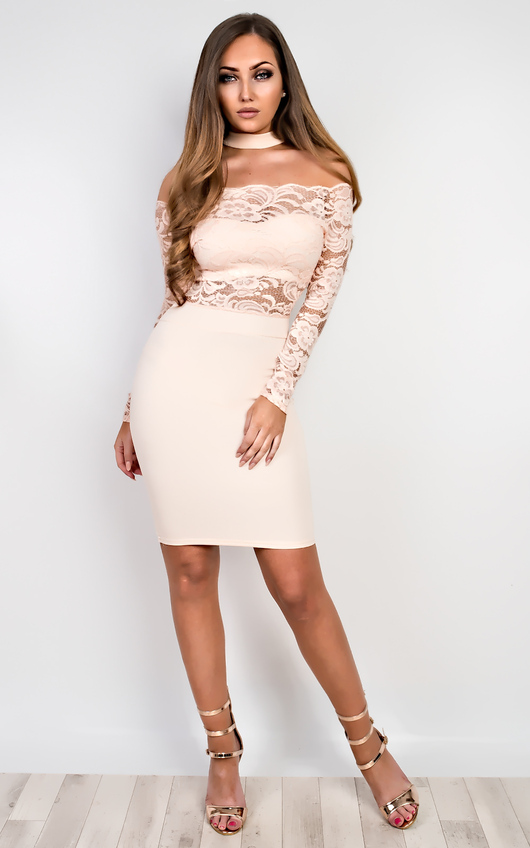 Ashford Lace Bodycon Dress