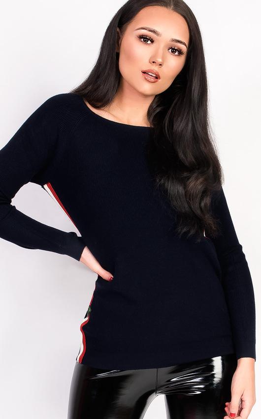 Kaira Knitted Stripe Jumper