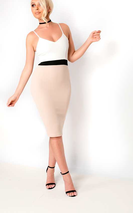 Adriana Midi Bodycon Dress