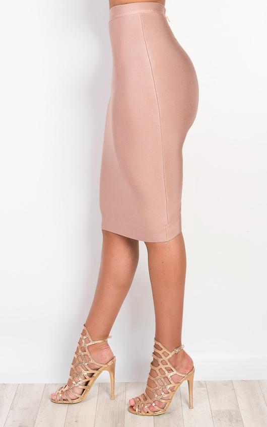 Clio Bandage Bodycon Skirt