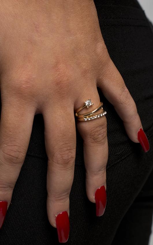 Orielle Twist Ring