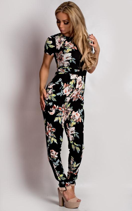Amarys Floral Jumpsuit