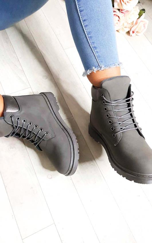 Ella Lace Up Boots