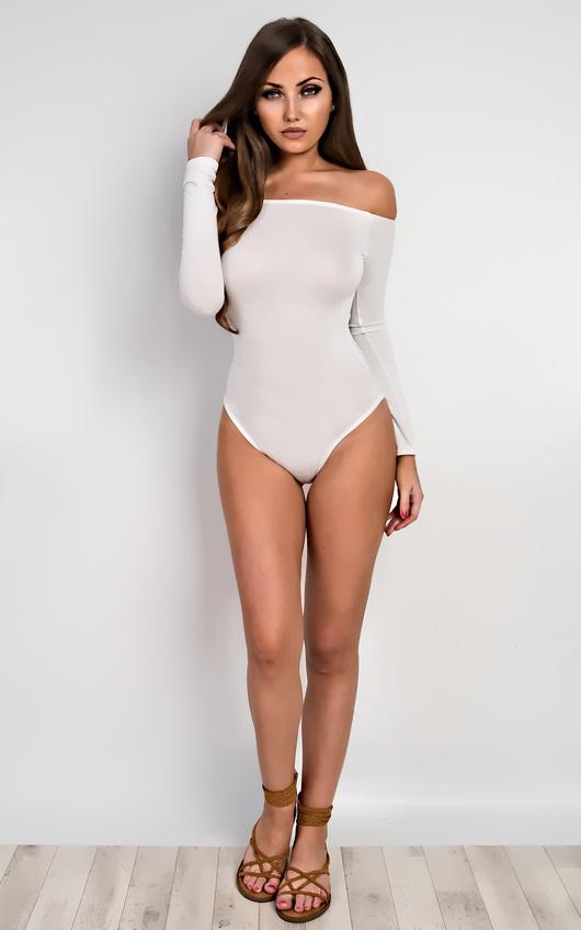 Neve Basic Off Shoulder Bodysuit