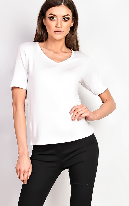 Loretta Basic V-neck T-shirt