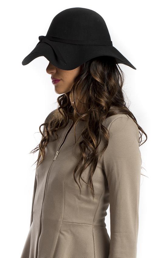 Felix Bow Detail Floppy Hat