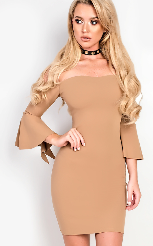Alise Off Shoulder Bodycon Dress