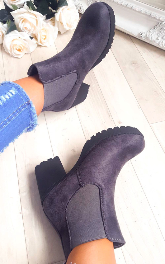Delis Chunky Ankle Boots