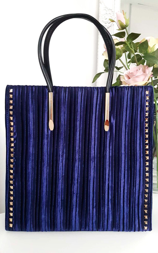 Merisa Studded Suede Handbag