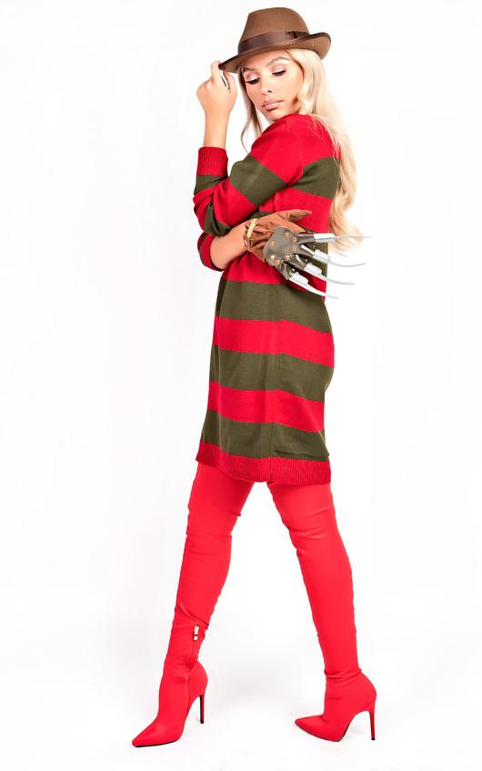 3d2f4e2604c Freddie Striped Knitted Jumper Fancy Dress Thumbnail