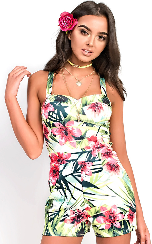Siana Floral Playsuit