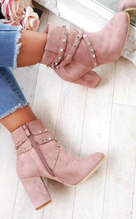 Mabel Studded Ankle Boots