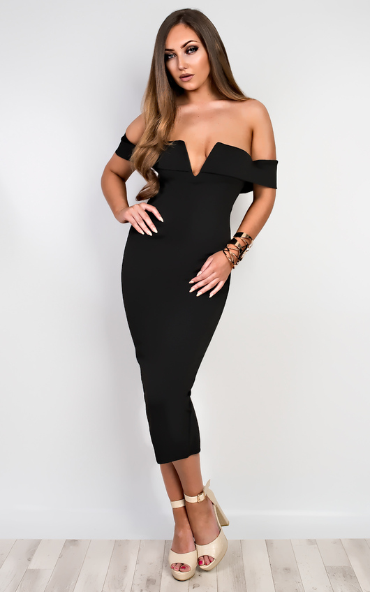 Raelyn Off Shoulder Bodycon Dress