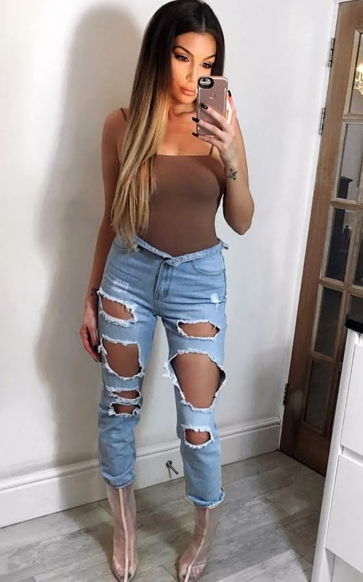 Huda Ripped Jeans
