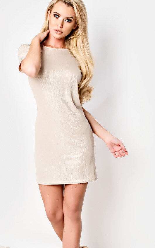 Florence Ribbed Mini Dress