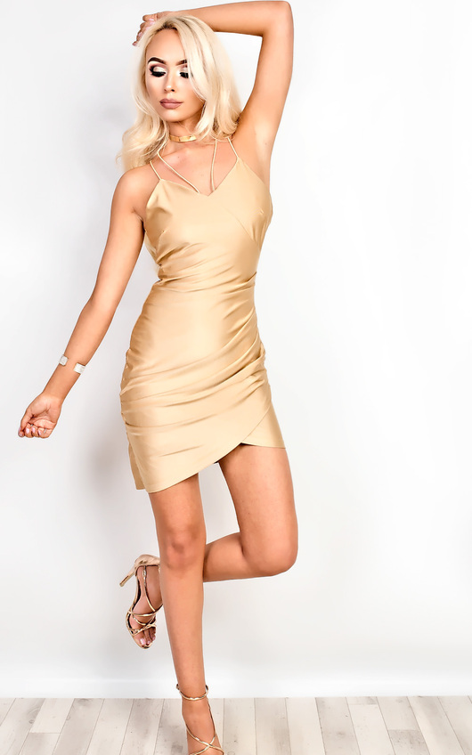 Isabelle Gathered Bodycon Dress