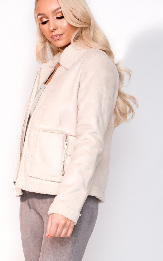 Jess Faux Fur Shearling Jacket