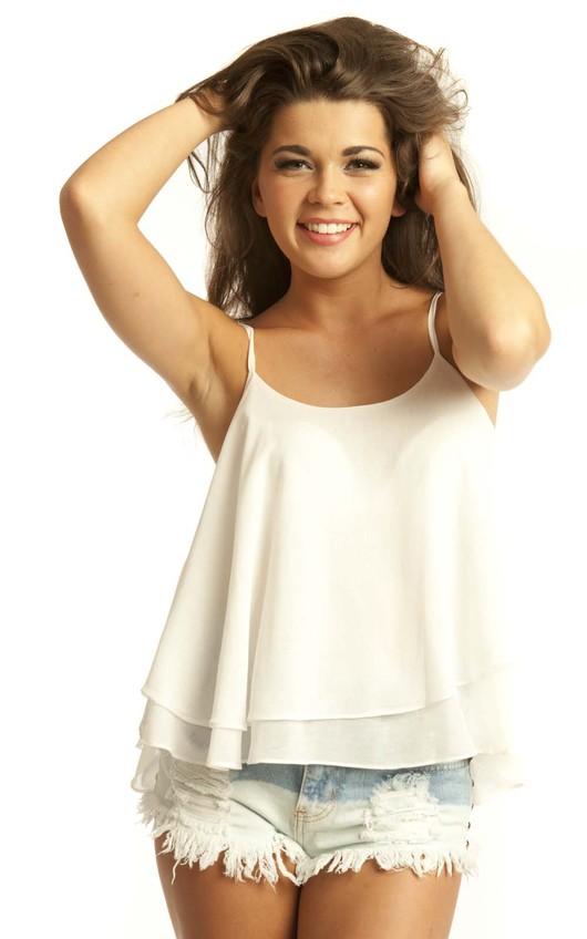 Shelli Cream Swing Vest