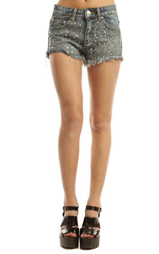 Leona Denim Shorts