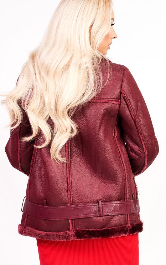 Bella Oversized Faux Shearling Jacket