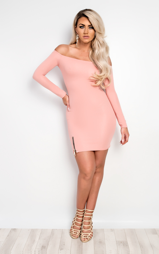 Kellen Off Shoulder Bodycon Dress