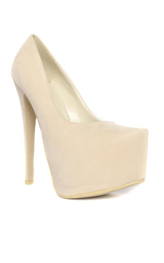 Mila Suede Platform High Heels