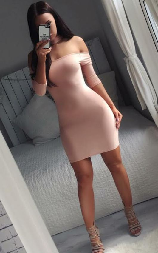 Imogen Off Shoulder Bodycon Dress