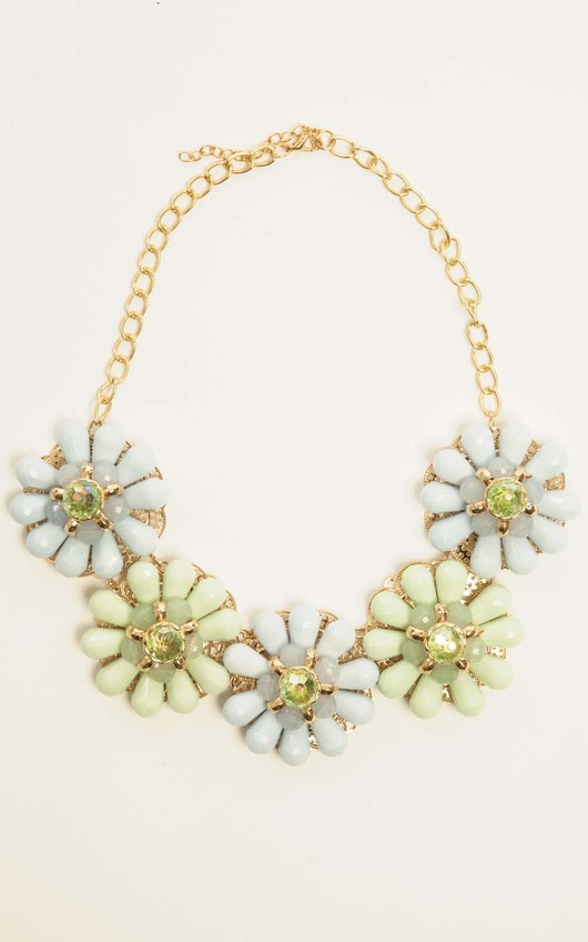 Aggie Large Floral Necklace