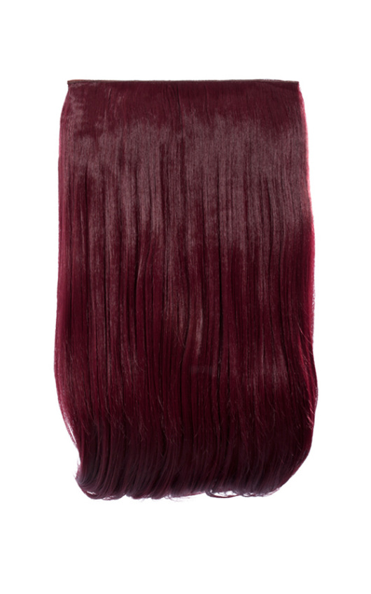 Intense Volume Clip In Hair Extensions - Flicky Burgundy