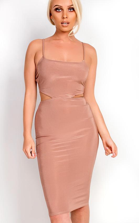 Ajtar Slinky Cut out Dress