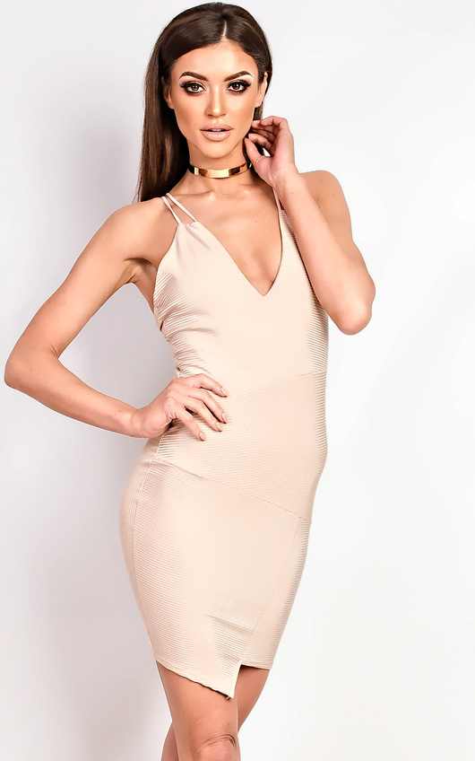 Malik Ribbed Mini Dress