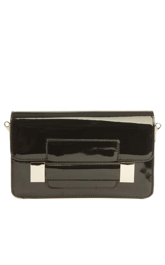 Eily Clutch Bag in Black