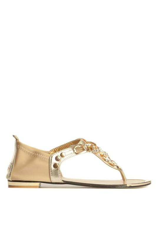 Erin Jewelled Chain Sandals