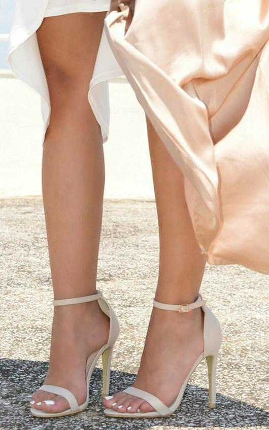 Koda Faux Leather Stiletto Heels